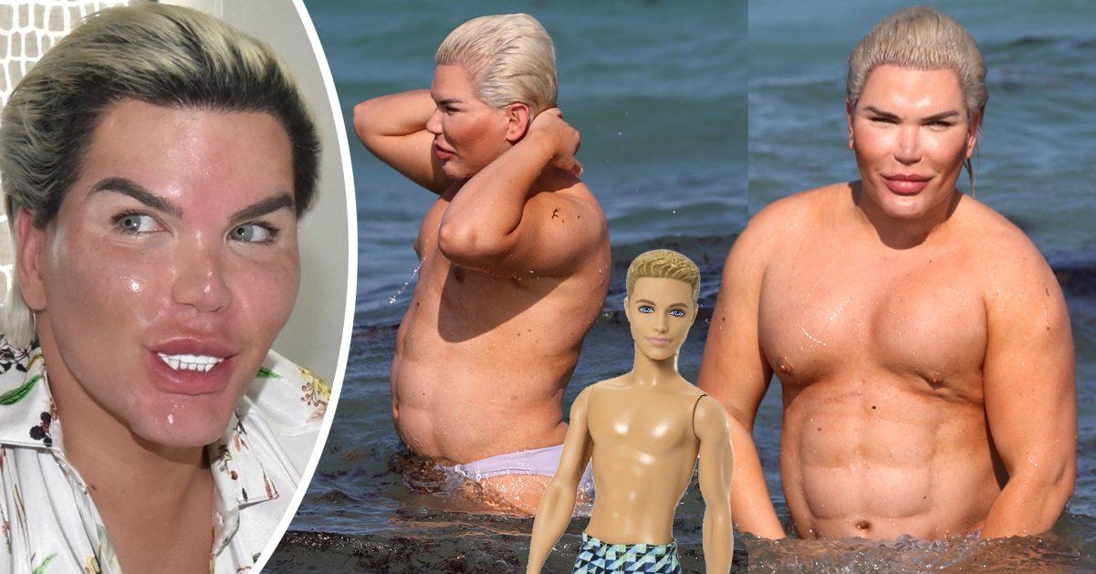 Den mänskliga Ken-dockan Rodrigo Alves är nu fast beslutad att gå ner i vikt då han tycker att han väger för mycket.