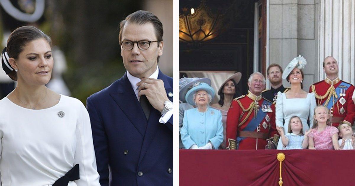 42ab68d174a2 Victoria nobbar brittiska kungafamiljens stora fest | Hänt.se