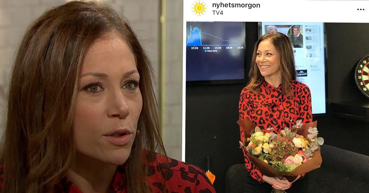 Tilde de Paula Eby avslöjar idag den 15 november 2018 att hon slutar på Nyhetsmorgon efter 17 år som programledare.