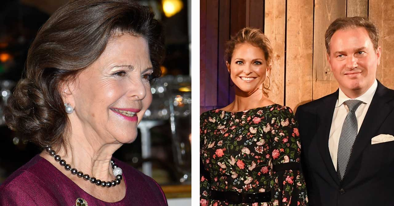 Prinsessan Madeleines vackra tal till Silvia på Oscarsteatern