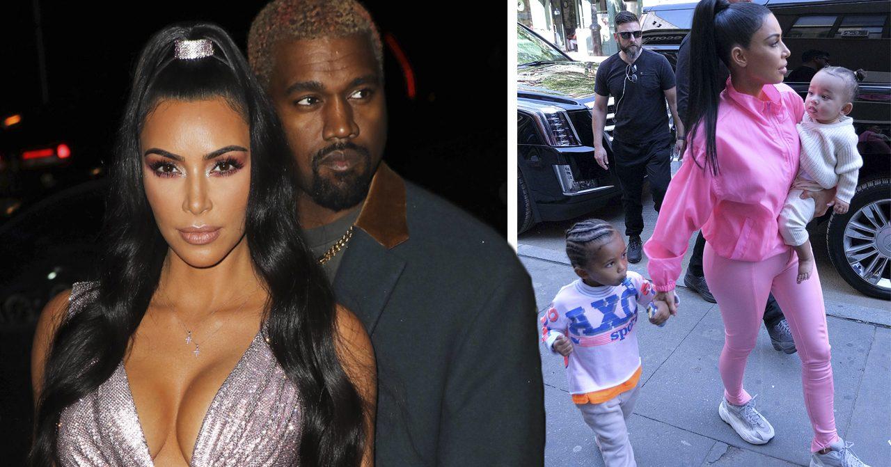 Därför väntade Kim Kardasian och Kanye West med fjärde barnet.