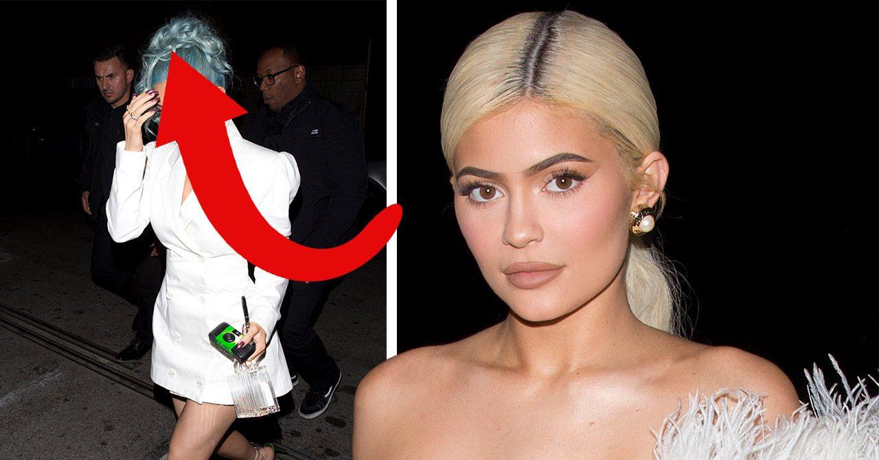 Kylie Jenners stora föärvandling