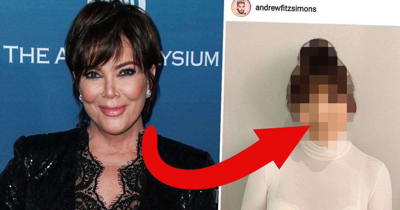 Kris Jenner ser precis ut som Kim Kardashian i sin nya frisyr.