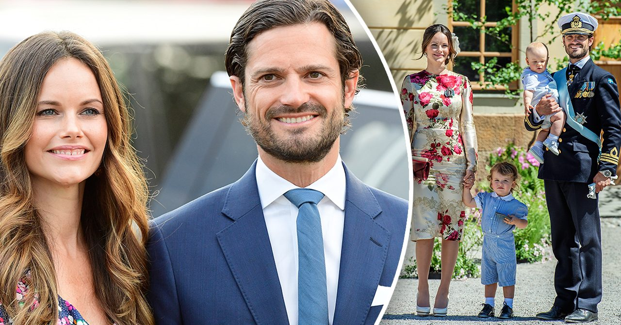 Prinsessan Sofia och prins Carl Philip är på semester med familjen