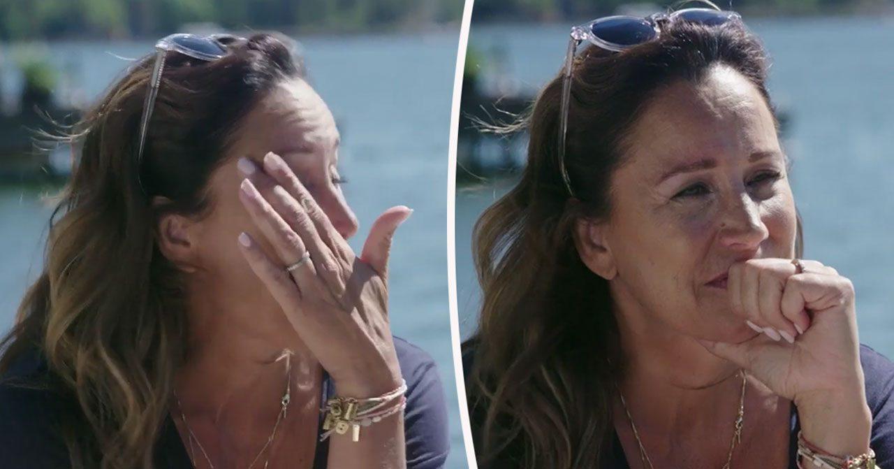 Renée Nyberg börjar gråta när hon pratar om Lill-Babs i Renées brygga.