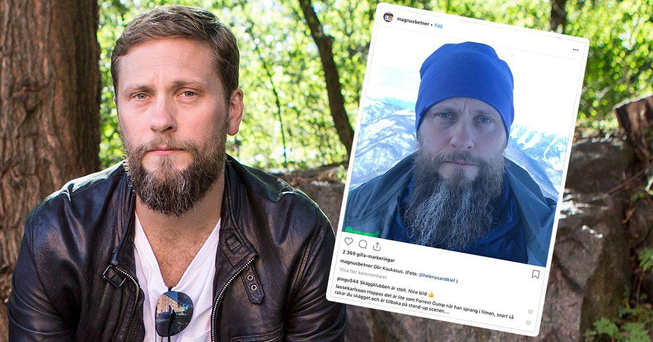 """Magnus Betnér bryter tystnaden om tuffa tiden: """"Slutkörd"""""""