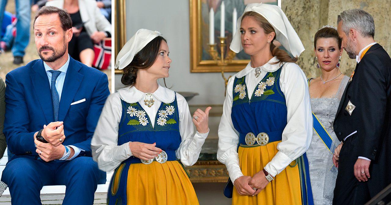 Kungliga skandalerna i nordiska kungahusen