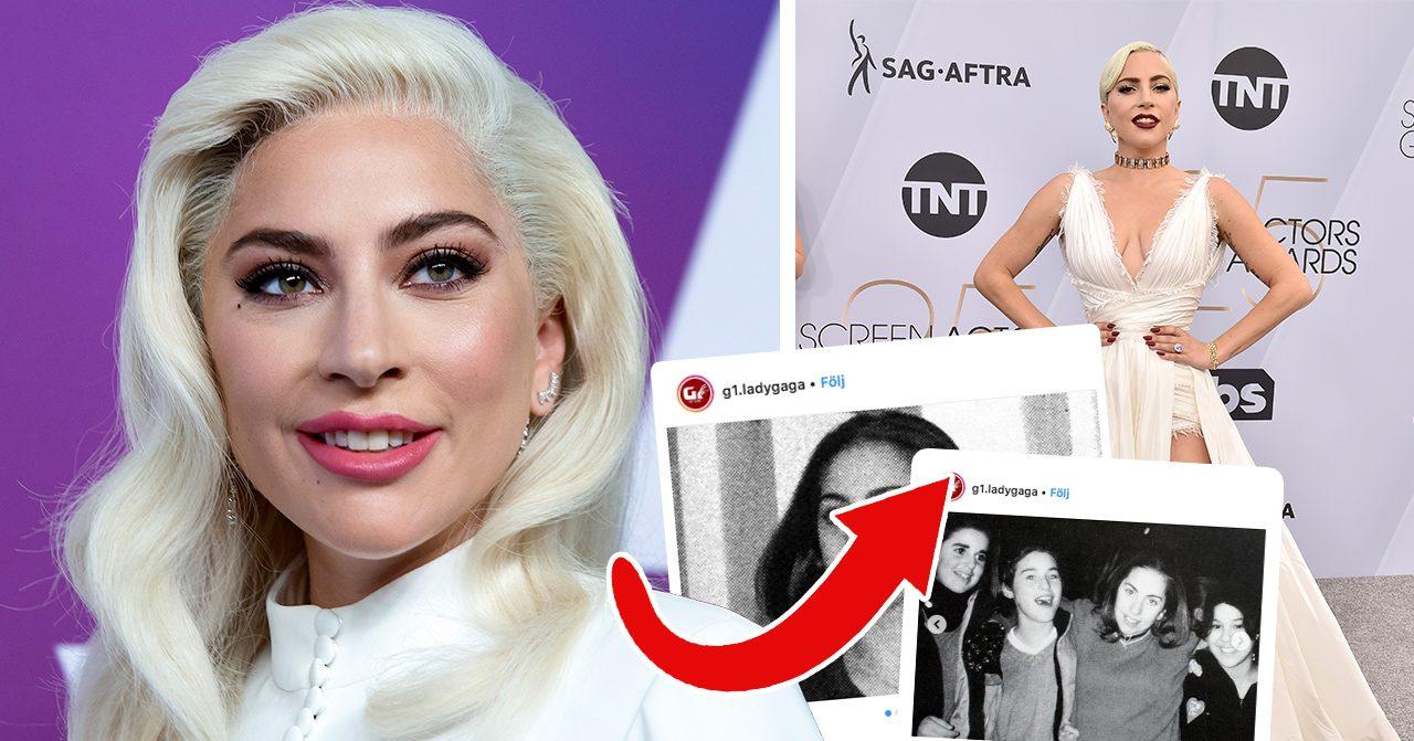 Bilderna på Lady Gaga chockar fansen