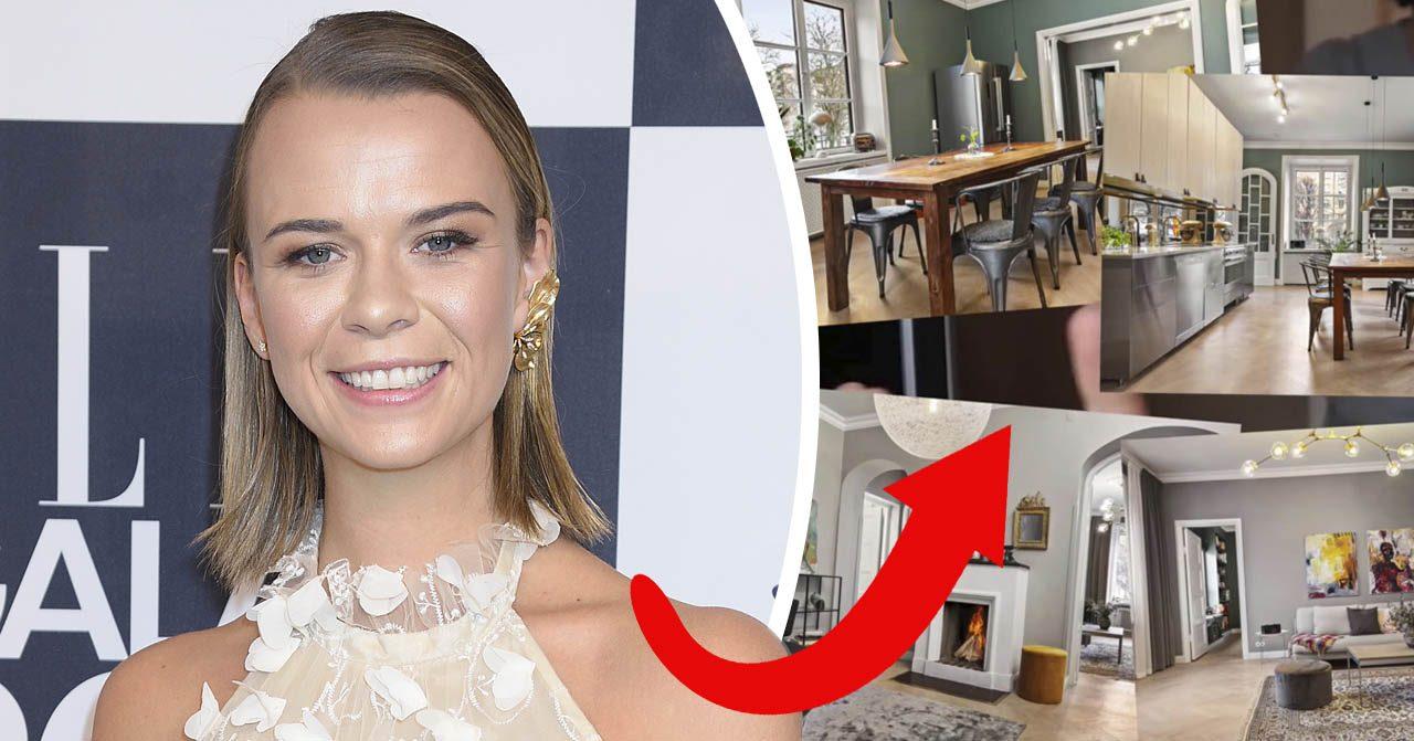 Margaux Dietz och fästmannen Jacob Liebermann har köpt ny lägenhet. Nu visar hon upp den.