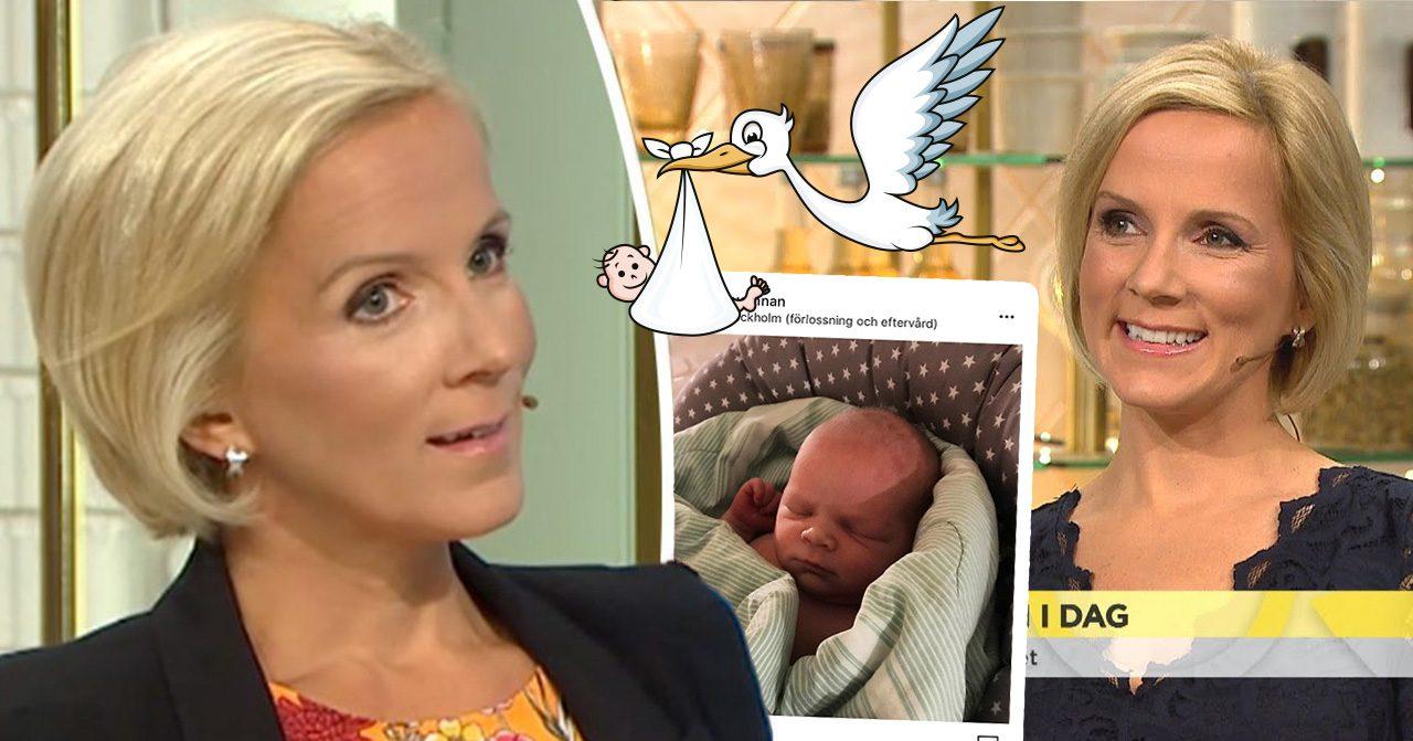 TV4-profilen Ulrika Anderssons mammalycka – har fått en son  ab6a6fd87c73f