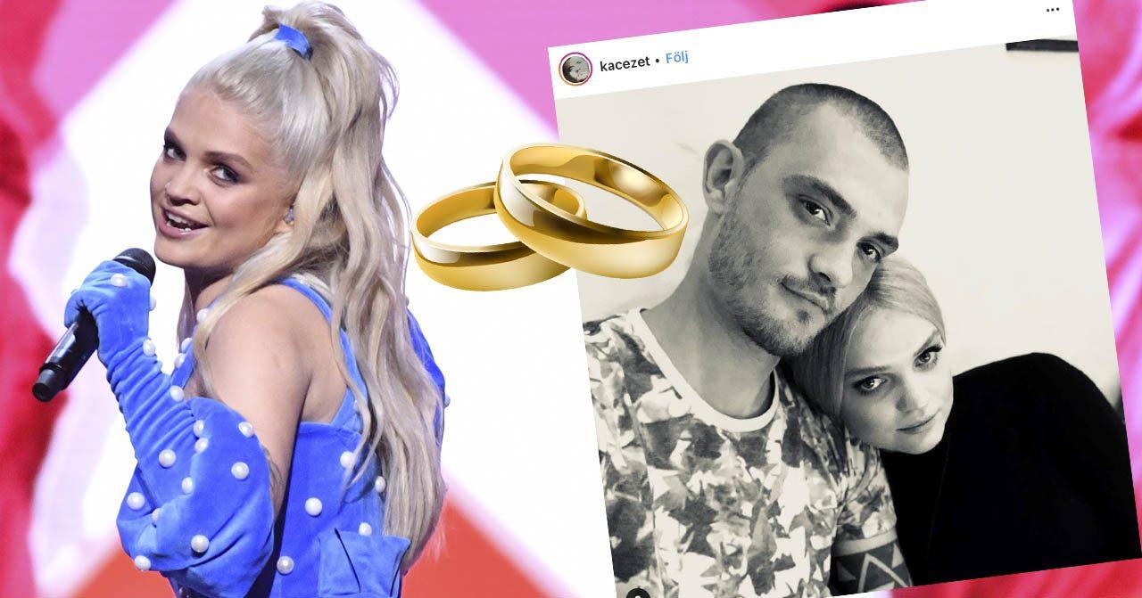 Margaret förlovad med pojkvännen