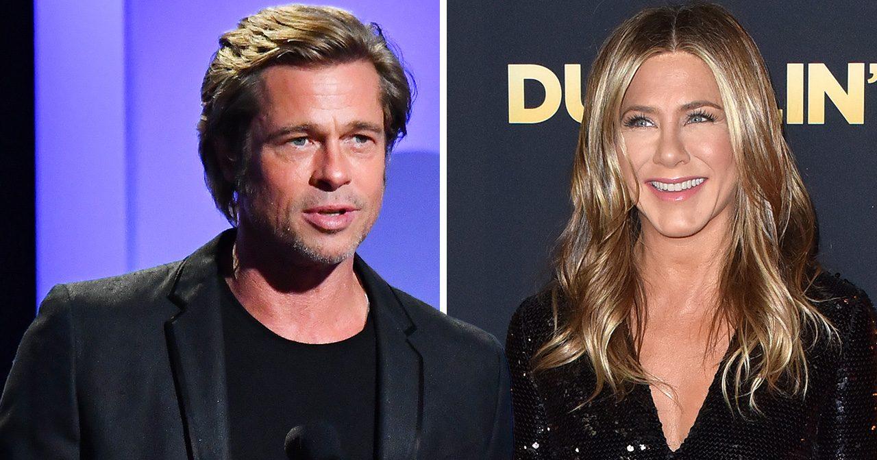 Fansen jublar efter nya bildenrna på Jennifer Aniston och Brad Pitt