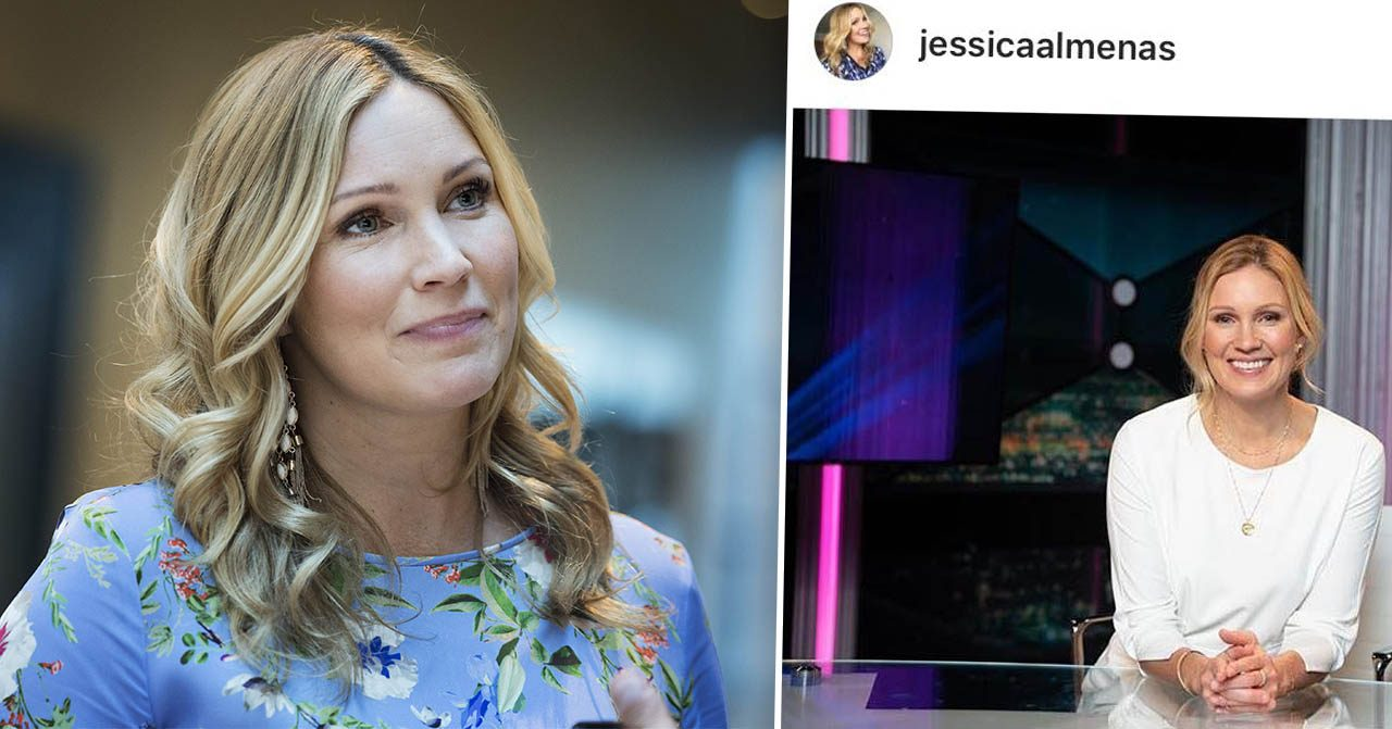 Jessica Almenäs i Breaking News