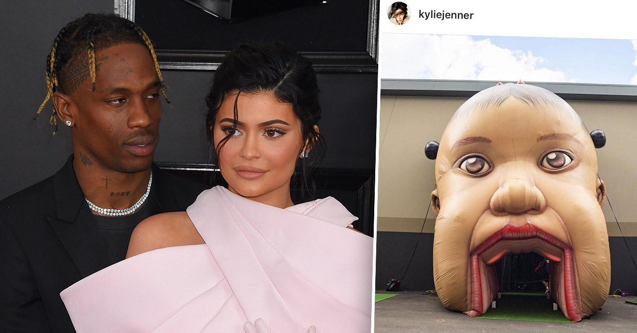 Kylie Jenner kritiseras efter dottern Stormis ettårskalas
