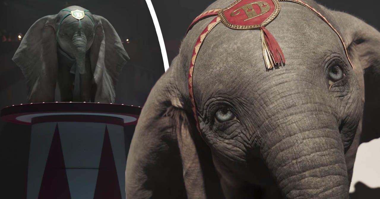 DIsneys nya trailer till Dumbo är släppt.