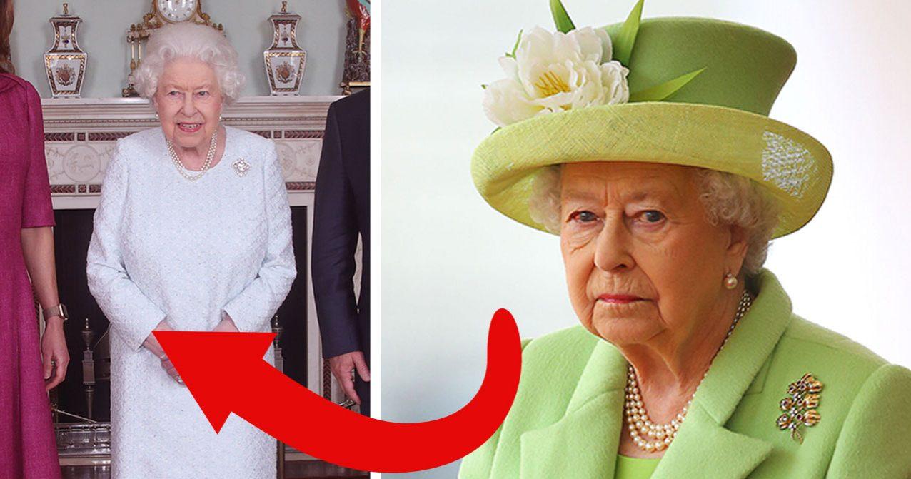 Nya bilder på drottning Elizabeth oroar.
