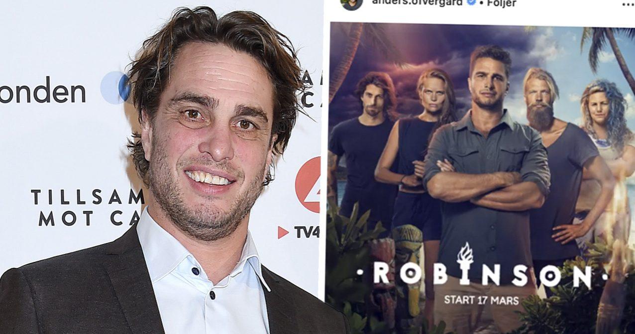 Anders Öfvergårds första ord om Robinson säsong 7 – 2019.