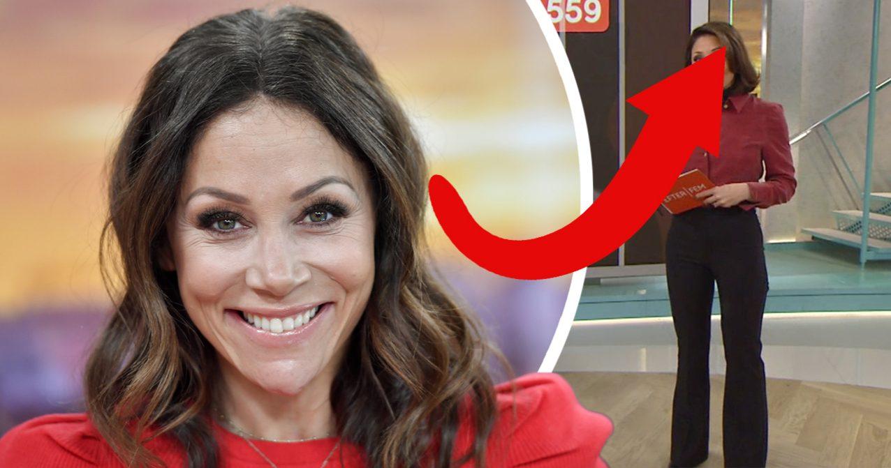 TV4-tittarna hyllar Tilde de Paula för hennes förändring i Efter fem på TV4.