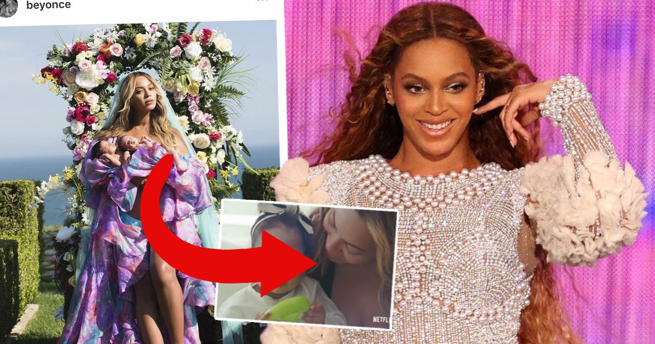 Beyoncés nya bilder på tvillingarna Rumi och Sir.