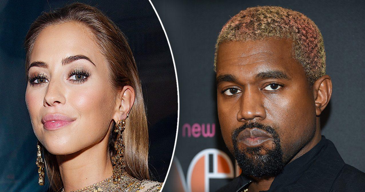 Kenza Zouiten och Kanye West