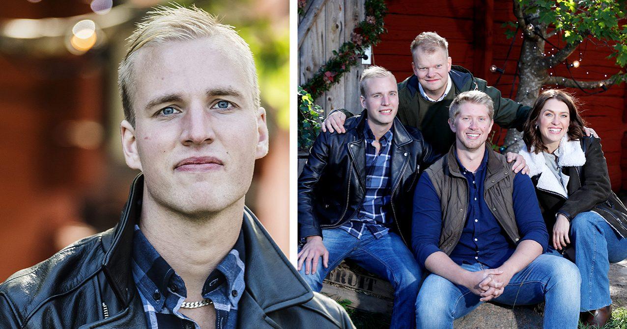 Simon Ohlsson från bonde söker fru har blivit sambo med nya flickvännen