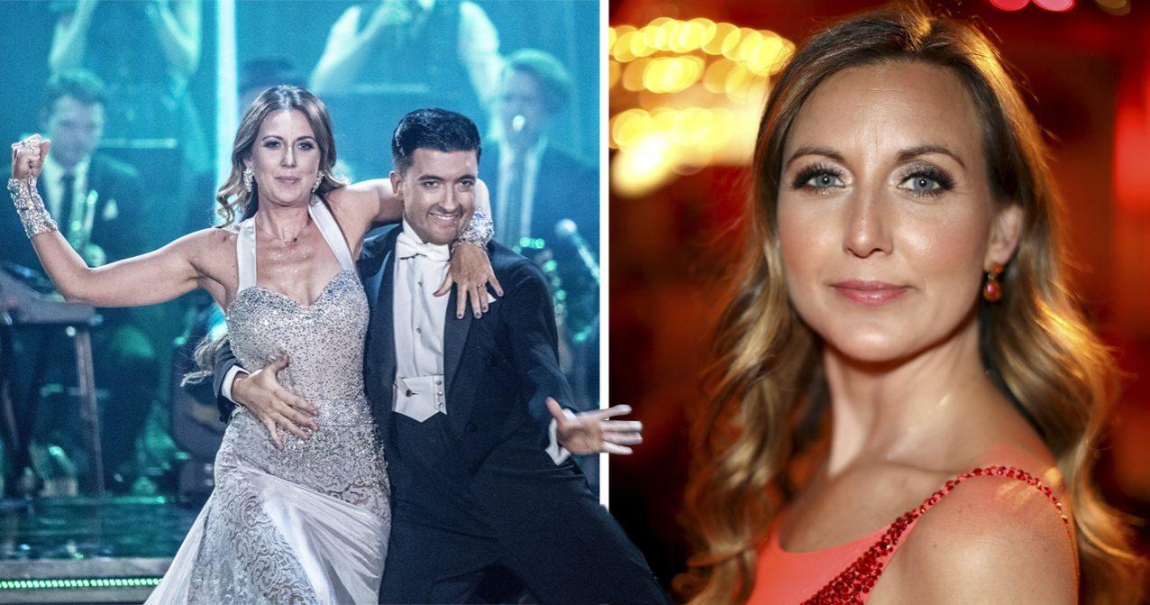 Sanna Lundell i Let's dance 2019