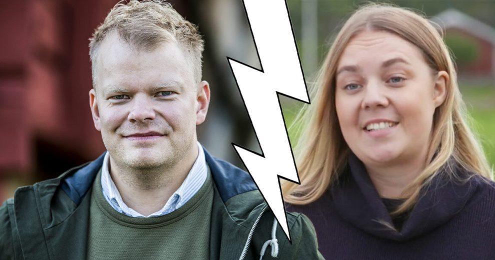 Per Solberg och Sofie Öman har gjort slut. De träffades i Bonde söker fru på TV4.