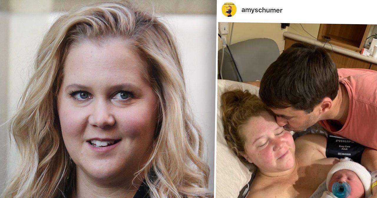 Amy Schumer har blivit mamma