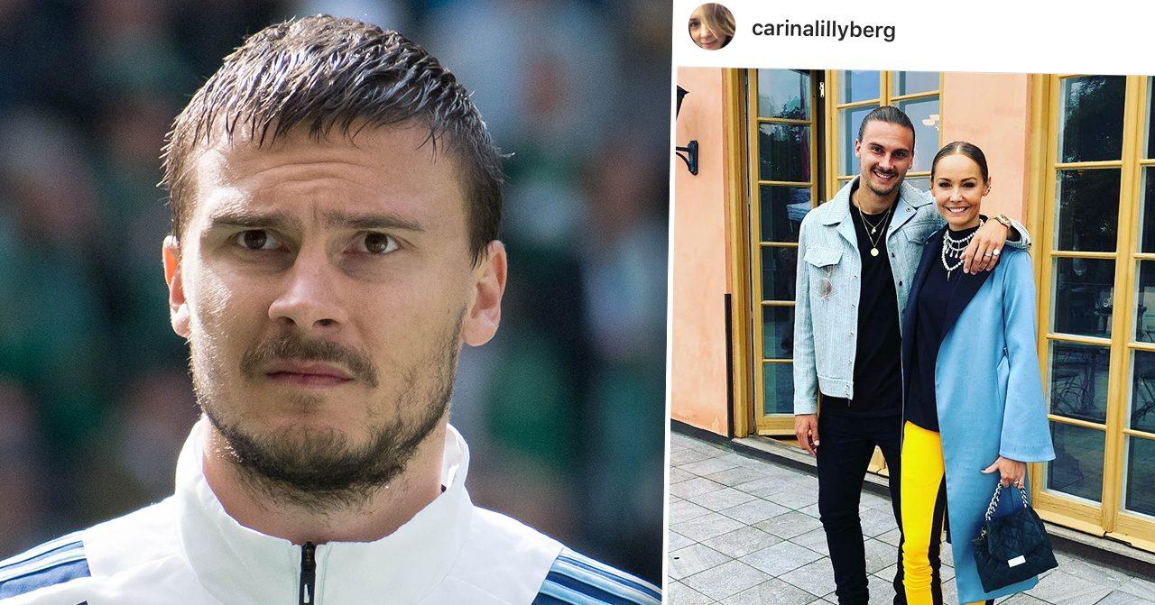 Erik Berg om relationen med Carina Berg