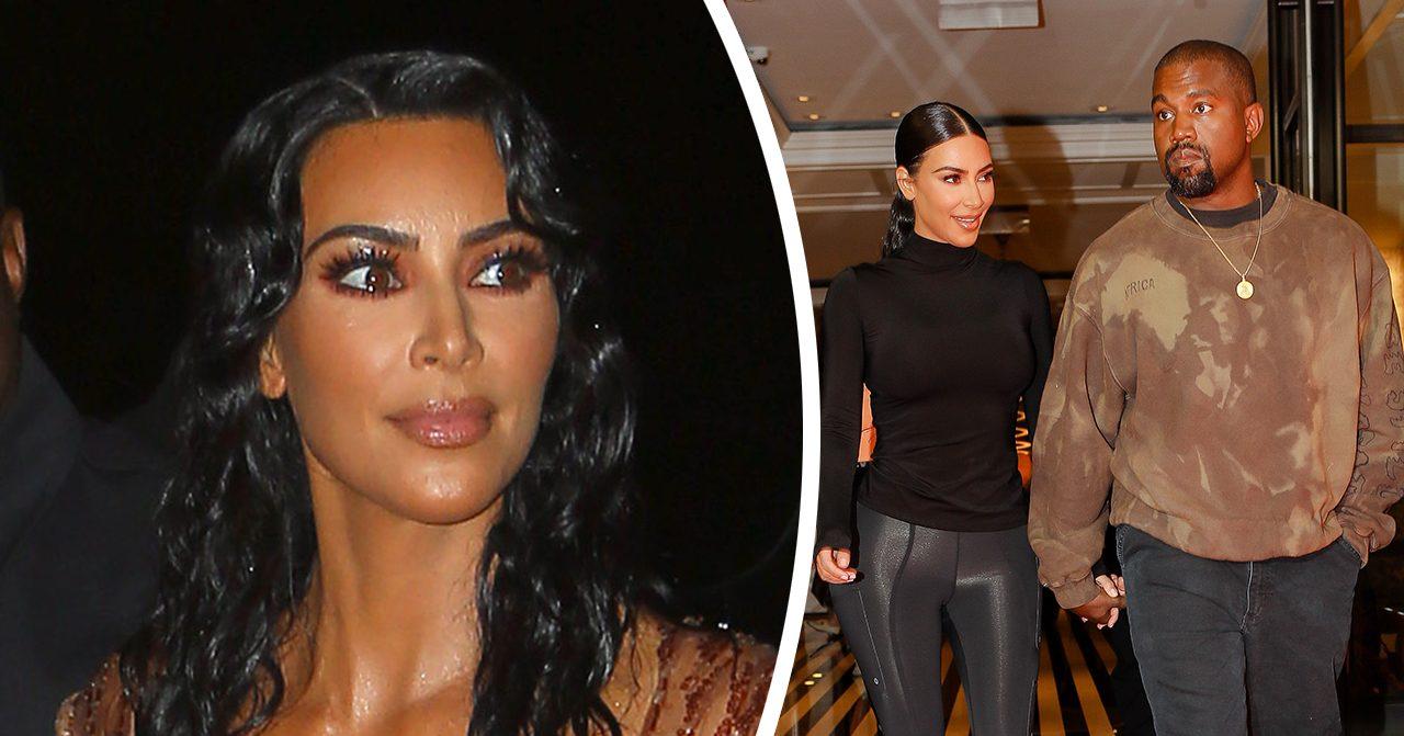 Kim Kardashian kan ha avslöjat sonens namn