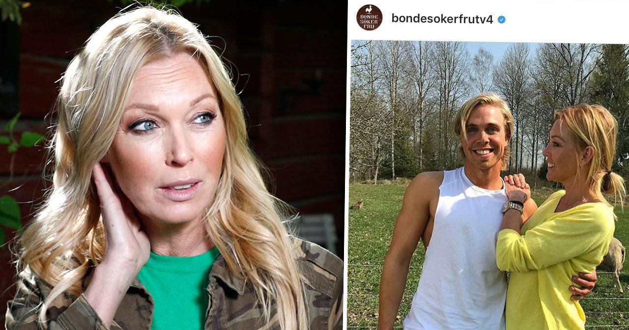 Linda Lindorffs ilska inför Bonde söker fru