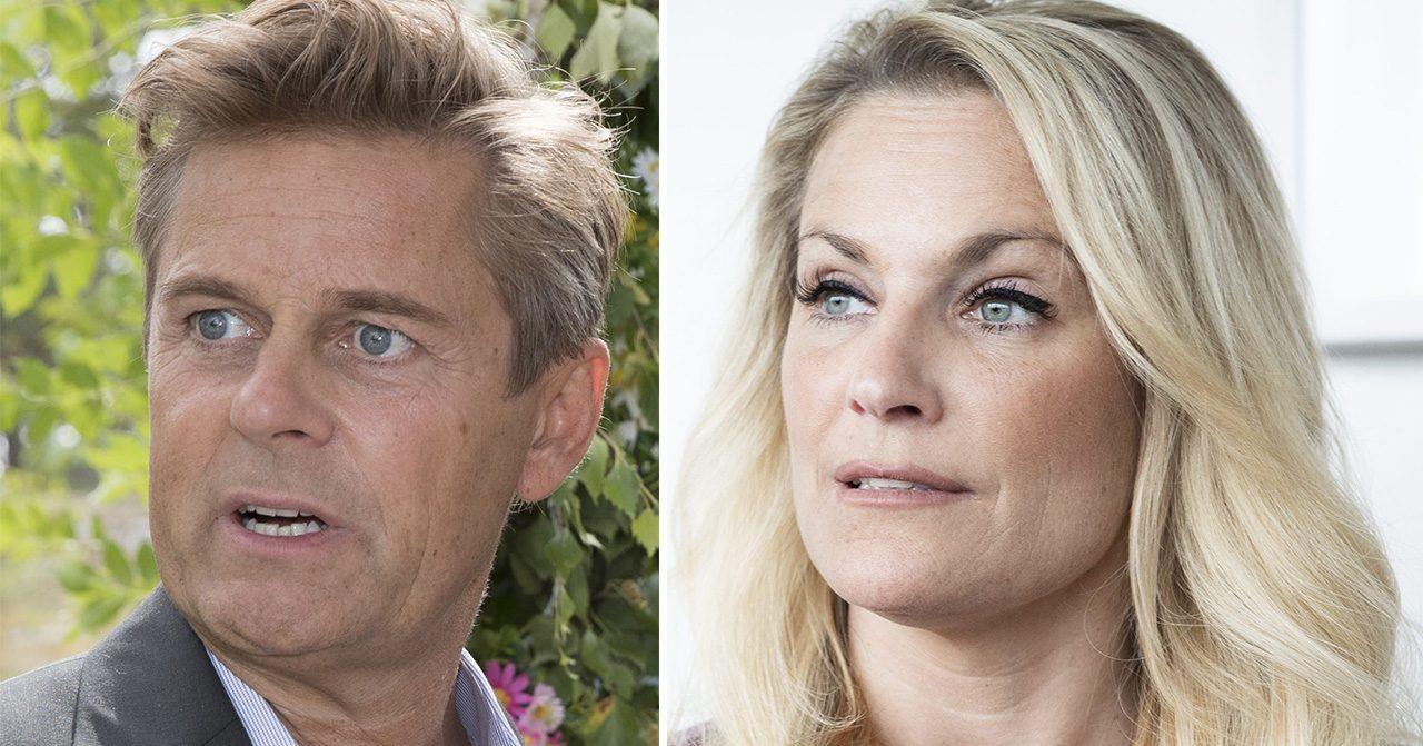 Laila Bagge berättar om svåra skilsmässan från Niclas Wahlgren.