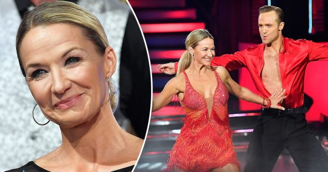 Kristin Kaspersen avslöjar framtidsplanerna med Calle Sterner efter Let's dance