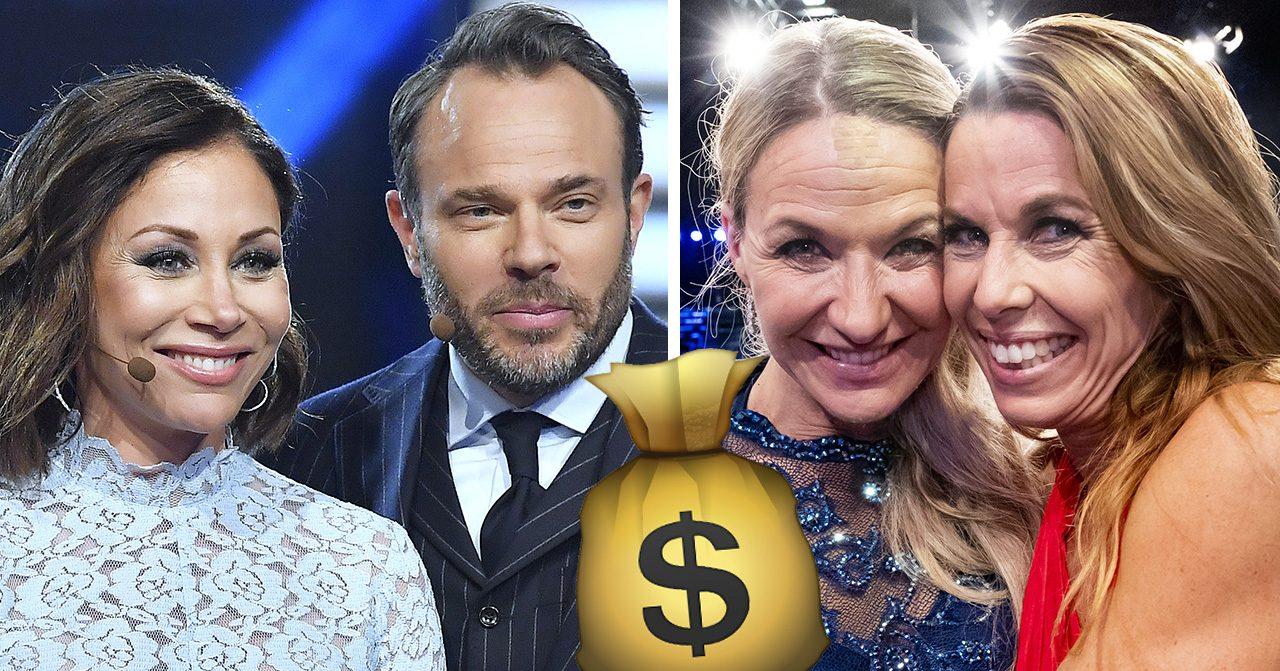 Spana in lönelistan – så mycket tjänar ALLA i Let's dance
