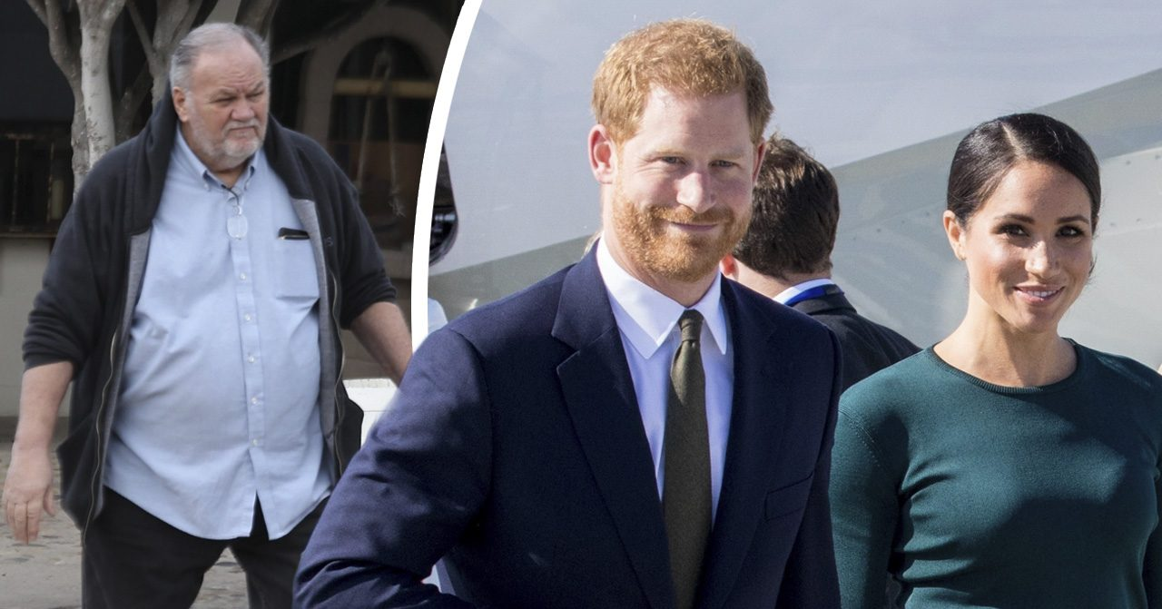Thomas Markle kritiserar nya filmen Harry & Meghan: Becoming royal om Meghan Markle och prins Harry.