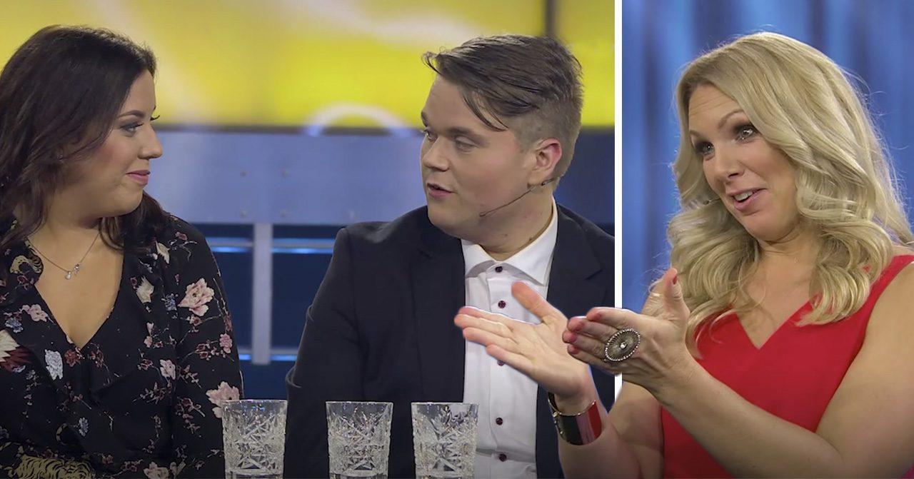 Alexander Berglund och Klara Asp i Biggest loser