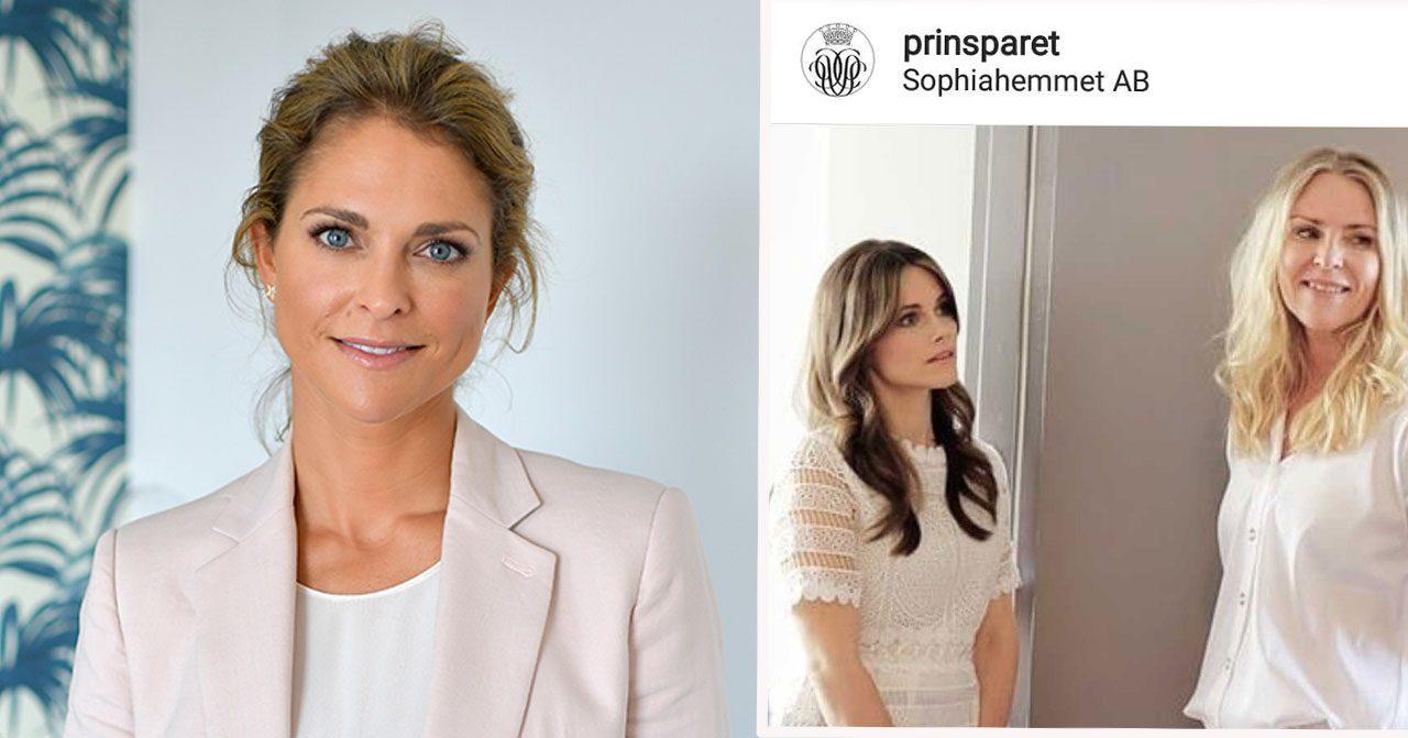 Prinsessan Madeleines och prinsessan Sofias relation blir varmare.