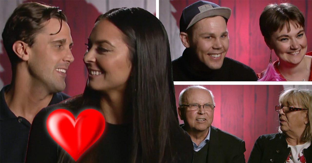 Jasmine Reimby, Ida Stiller och Håkan Eriksson var med i Första dejten 2018.