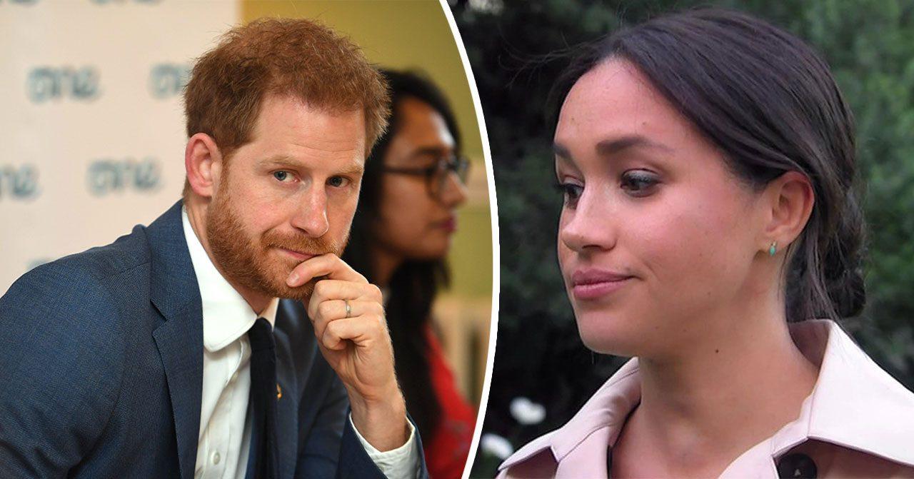 Prins Harry och Meghan Markle kan lämna kungafamiljen