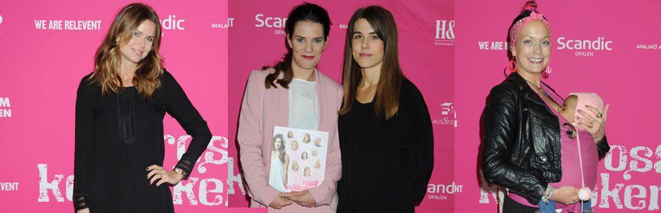 Rosa kokboken – en kändiskamp mot bröstcancer